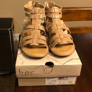 Born Scotti Tan Sandals